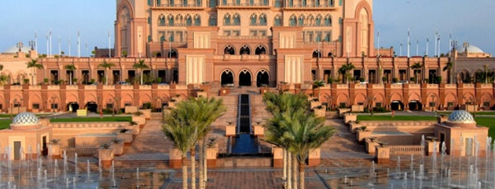 Emirates Palace Hotel is one of All TIP.