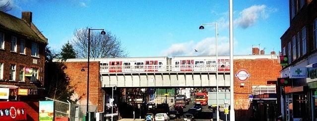 Ruislip Manor London Underground Station is one of Tube Challenge.