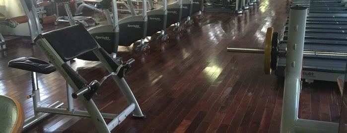 Gym @ The Rex Hotel is one of List 1.