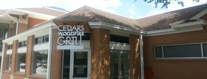 Cedars Woodfire Grill at Cooper Aerobics is one of * Gr8 Sandwich & Lunch  Shops In Dallas.