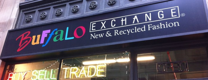 Buffalo Exchange is one of The Crowe Footsteps.