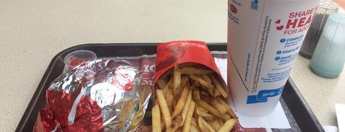 Wendy's is one of Favorite Food.