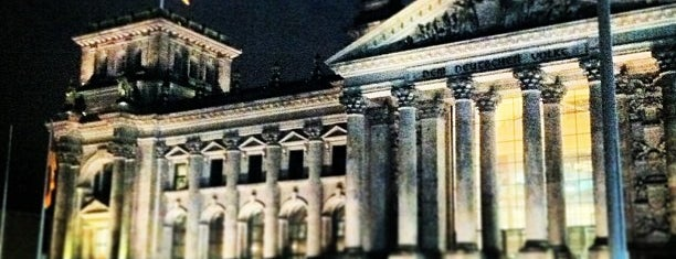 Reichstag is one of 36 hours in...Berlin.