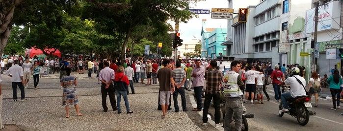 Praça da Bandeira is one of Top 10 favorites places in Campina Grande, Brasil.