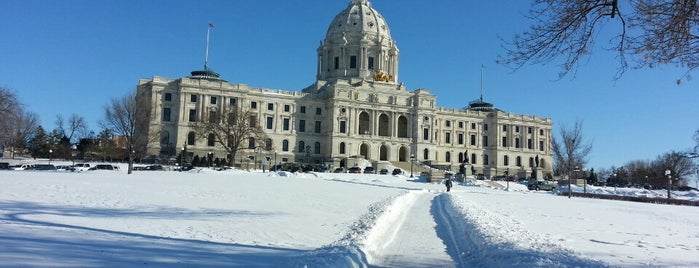 Minnesota State Capitol is one of fun places to check out.