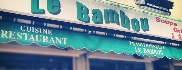 Le Bambou is one of Best vietnamese restaurants in Paris.
