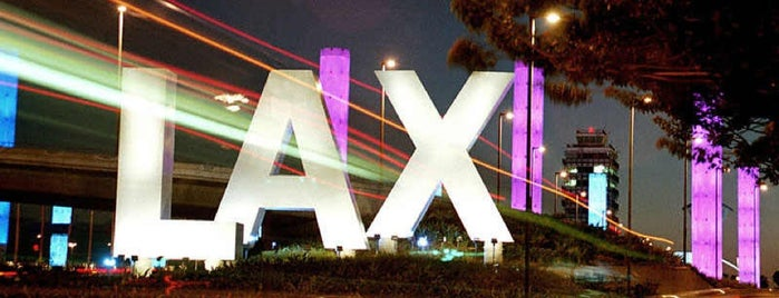 Los Angeles International Airport (LAX) is one of x LA! x.