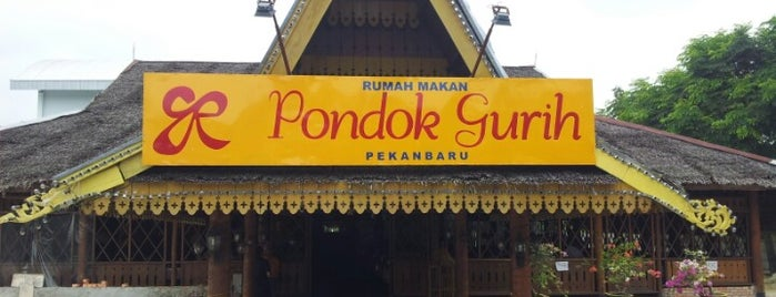 RM Pondok Gurih is one of Top 10 dinner spots in Pekan Baru, Indonesia.