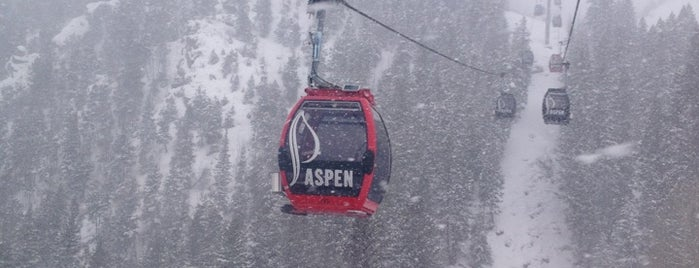 Aspen Mountain is one of Ski resorts I've been to..