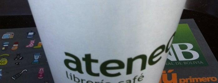 Cafe Ateneo (Equipetrol) is one of Wifi grátis em Santa Cruz Bolívia.