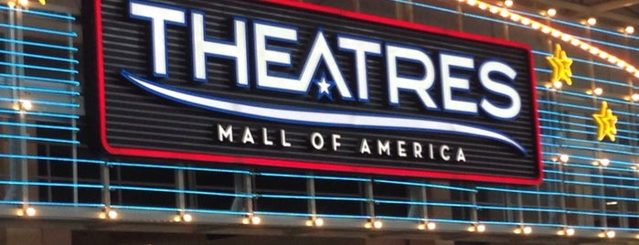 Theatres at Mall of America is one of main street.