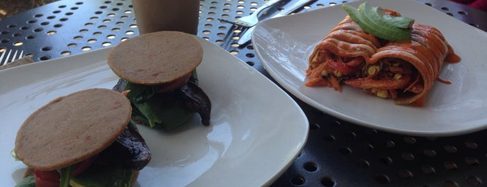 Consious oc eateries for 118 degrees raw food cuisine