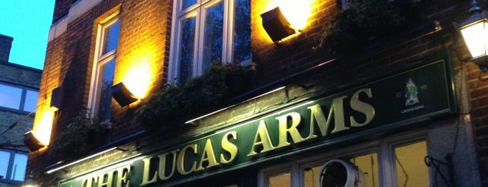 The Lucas Arms is one of BMAG's Pubs.