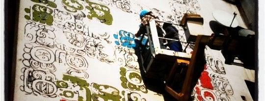 Mayamural - Mural na Koniec Świata (21.12.2012) is one of Street Art w Krakowie: Graffiti, Murale, KResKi.
