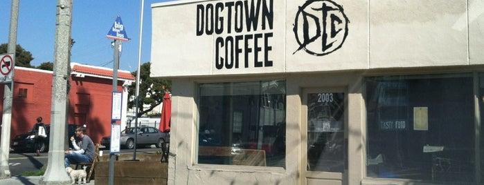 Dogtown Coffee is one of Santa Monica Eats.