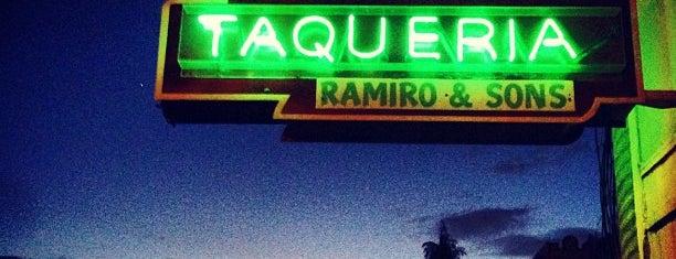 Taqueria Ramiro & Sons is one of My fav Alameda eats!.