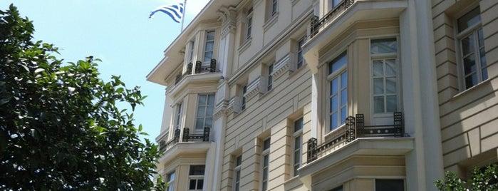 Ίδρυμα Εικαστικών Τεχνών & Μουσικής Β&Μ Θεοχαράκη is one of Ελλαδα.