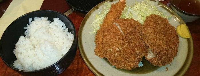 かつ進 湯島天神下店 is one of TO-DO 食事.
