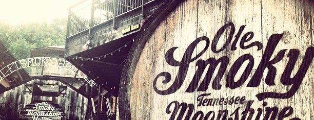 Ole Smoky Moonshine Distillery is one of Favorites.