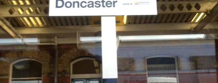 Doncaster Railway Station (DON) is one of East Coast Network.