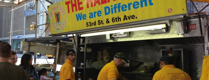 The Halal Guys is one of Where to go in NYC.