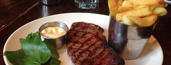 Smiths of Smithfield is one of Steak in London.