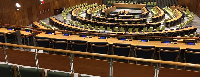 United Nations General Assembly is one of World Sites.