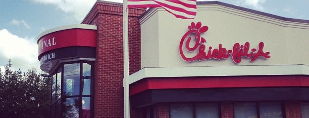 Chick-fil-A is one of Yay food!.