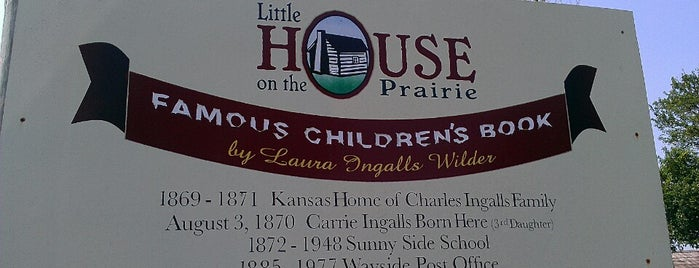 Little House On The Prarie is one of All-Time Favourite Places.