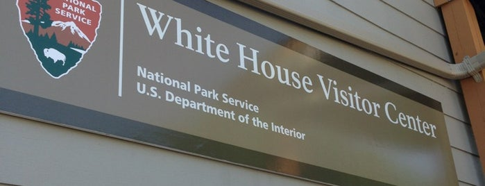 White House Visitor Center is one of Moderator Central.