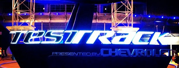 Test Track Presented by Chevrolet is one of Disney Rides.