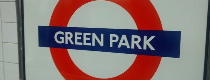 Green Park London Underground Station is one of Zone 1 Tube Challenge.