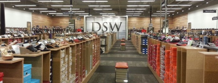 DSW Designer Shoe Warehouse is one of Top picks for Clothing Stores.