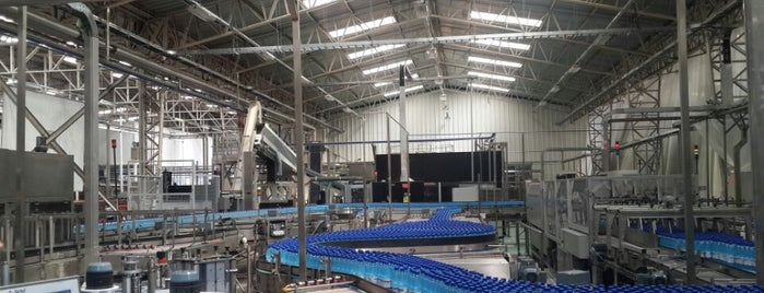 Planta de aguas minerales Cachantun CCU Coinco is one of Trabajo.