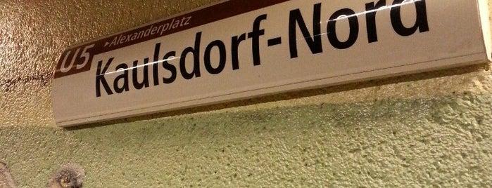U Kaulsdorf-Nord is one of U-Bahn Berlin.