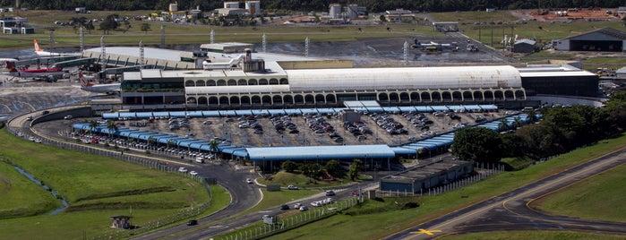 Aeroporto Internacional de Salvador / Deputado Luís Eduardo Magalhães (SSA) is one of Ferias USA 2012.