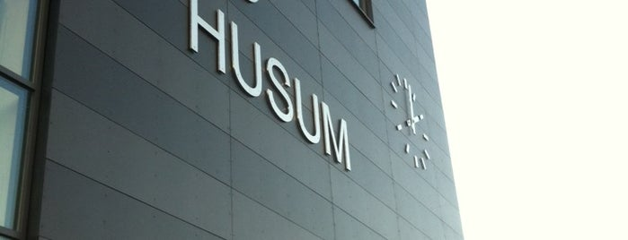 Husum C is one of Tågstationer - Sverige.