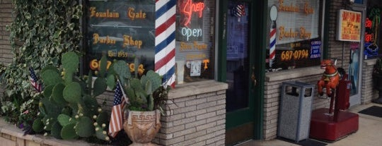 Fountain City Barber Shop is one of Fountain City FUN!.