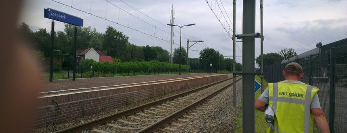 Station Spaubeek is one of stations.