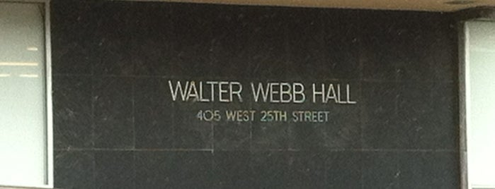 Walter Webb Hall (WWH) is one of 40 Acres Self-Guided Tour.
