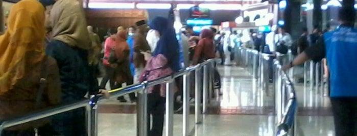 Terminal 2E is one of Soekarno Hatta International Airport (CGK).