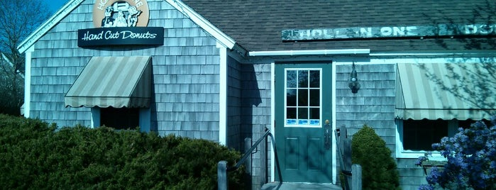Hole In One Donut Shop is one of a local's guide to Cape Cod.