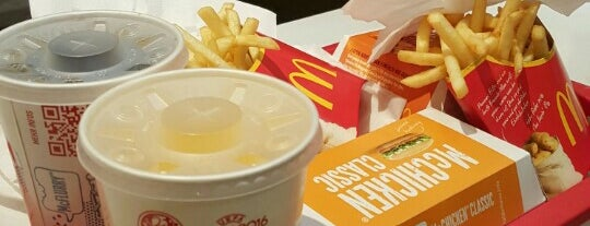 McDonald's is one of Fastfood.