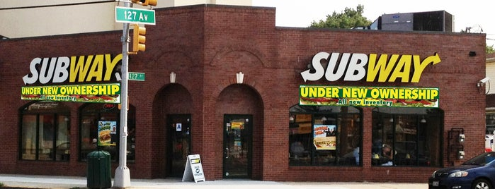 Subway is one of my places.