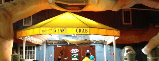 Giant Crab Seafood Restaurant is one of Guide to Myrtle Beach's best spots.