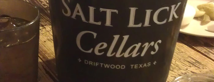 Salt Lick Cellars is one of Top 10 favorites places in Austin, TX.