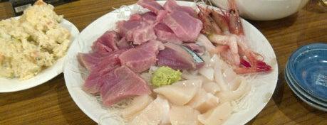 魚仁 is one of 月島もんじゃレス.