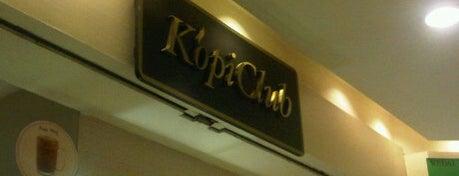 KopiClub is one of Cafe & Kopitiam.