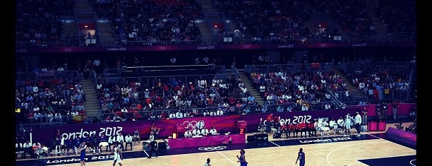 London 2012 Basketball Arena is one of London.