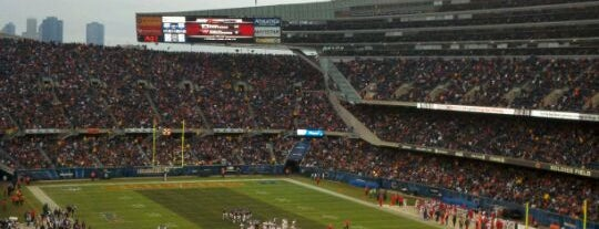 Soldier Field is one of Best Stadiums.
